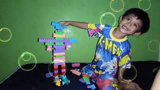 Cara Membuat LEGO Robot Alvin Kids Happy Fun Smart Kids ~ Let's play Lego toys to make Lego Robots