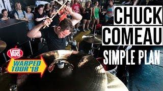 "Chuck Comeau | Simple Plan-""Jump"" (WARPED TOUR '18 PERFORMANCE)"