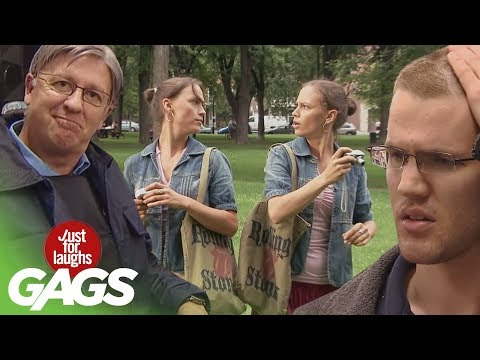 Funny Twin Pranks  Best of Just for Laughs Gags