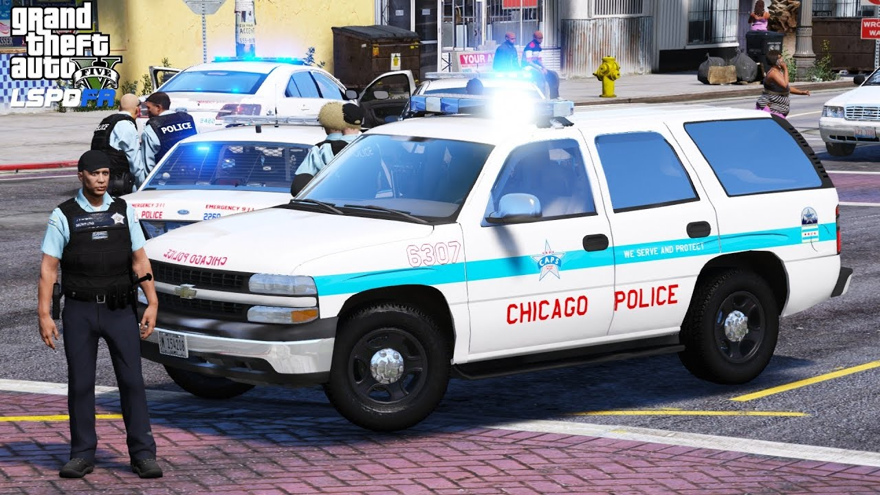 GTA 5 LSPDFR Police Mod 397 | The Return Of Chicago PD | 2006 Chevy Tahoe  |Everybody Is Under Arrest