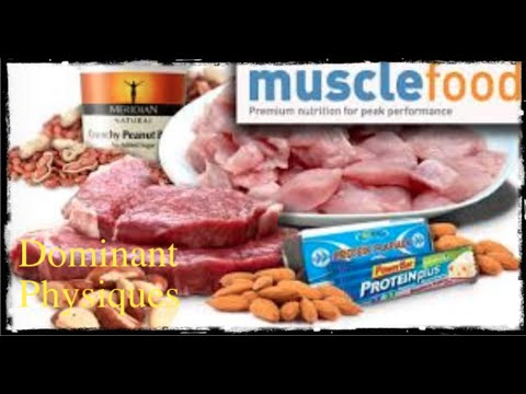 British Body Builder/Muscle Food Review, Update