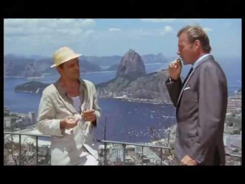 Klaus Kinski und Lex Barker am Zuckerhut