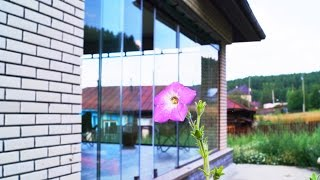 Загородный дом: Остекление веранды... Закаленное стекло 10 мм...(, 2016-08-18T13:01:13.000Z)