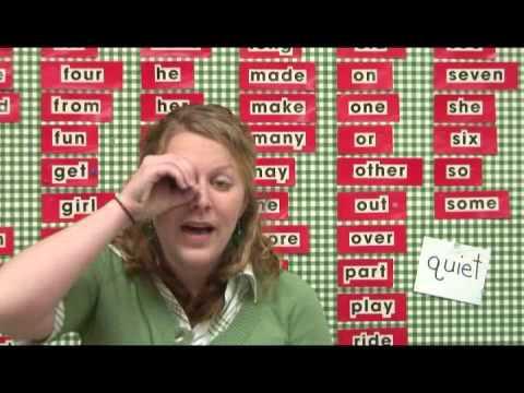 How to Teach Kindergartners Sight Words