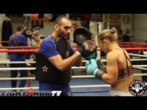 Behind the scenes of Ronda Rousey's training camp in Big Bear: UFC 157