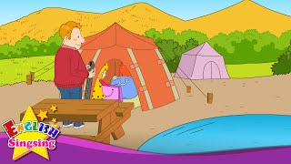 [Suggestion] Let's go camping. - Easy Dialogue - English educational animation with subtitles