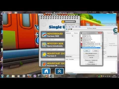 Subway Surfers Cheat Engine 6.4