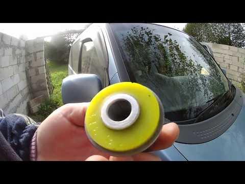 Замена сайлентблоков передних рычагов хонда