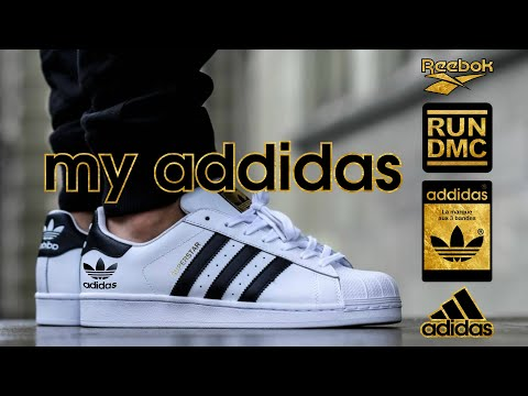 My Adidas RUN DMC