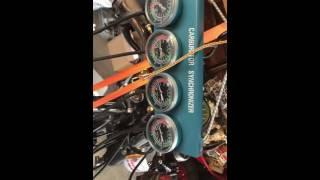 honda cb550 timing and carb balancing