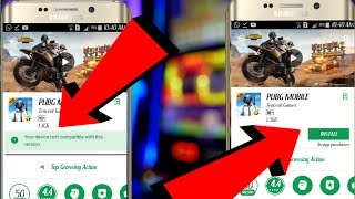 How To Download PUBG in Any Android Device|Not Available in Your Device Don't Worry| 100% Working.