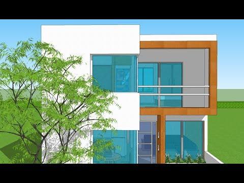 Plano casa 7x10 2 rec maras youtube for Planos de casa habitacion