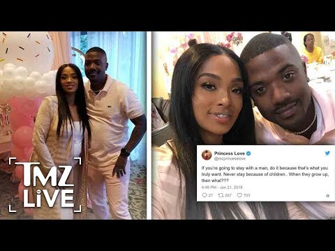 Ray J & Brandy At War! | TMZ Live