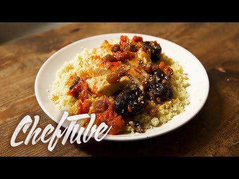 How to Make Chicken with Prunes - Recipe in description
