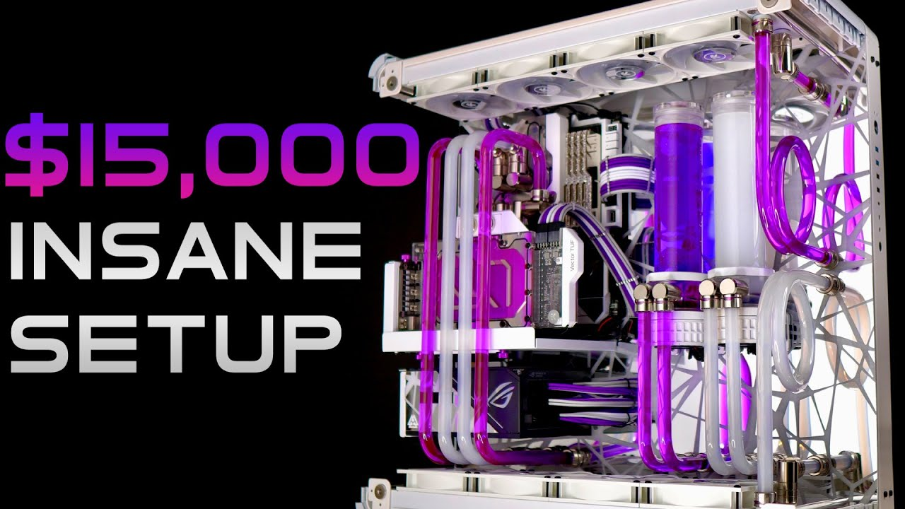 Download DREAM $15,000 Custom Water Cooled Gaming PC Build