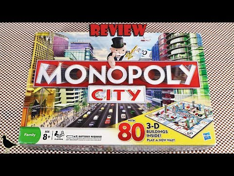 Monopoly City Board Game Review! | Board Game Night