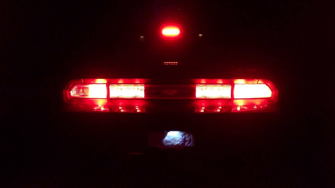 Dodge Challenger Srt8 Led Tail Lights Youtube