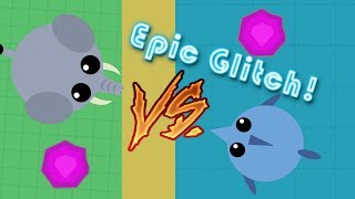 Mope.io - EPIC MONTAGE OF THE GREATEST MOPE.IO GLITCH OF ALL TIME!!!
