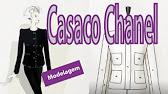 c2e44253c9aa9 Aula 1 - Casaco Tweed Chanel - Lista de materiais - YouTube