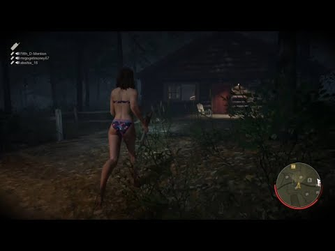 Jenny Myers Spring Break 84' Gameplay #11 [720p] | Friday the 13th: The Game