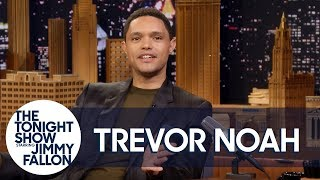"""Trevor Noah Turns President Trump's """"Knife Crimes"""" Comments into a New Reggae Song"""