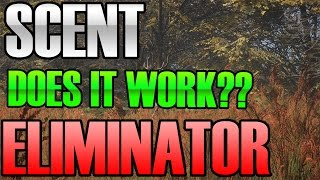 The Hunter Call of the wild - Scent Eliminator Test