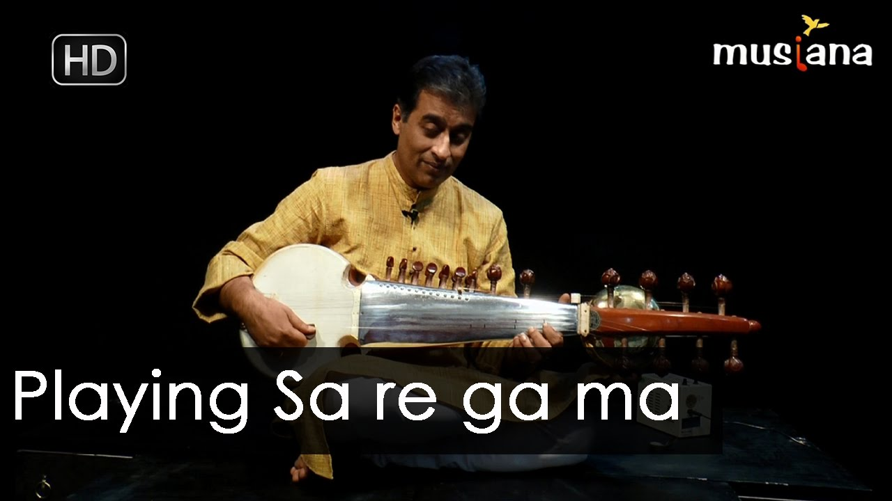 Musiana Masterclass | Sarod 106 | Playing Sa re ga ma - Part 2 | Dr. Rajeeb Chakraborty