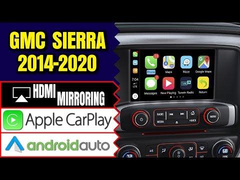 Gmc Sierra 2014 2019 Navigation Intellilink Video Interface Apple Carplay Hdmi Smartphone Mirroring Youtube