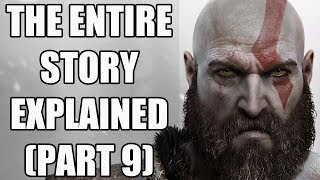 God of War (2018) - The Entire Story Explained - The Story So Far - Part 9