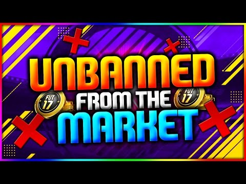 FIFA 17 | HOW TO GET *UNBANNED* FROM THE TRANSFER MARKET - FIFA 17 SNIPING HOW TO GET UNBANNED