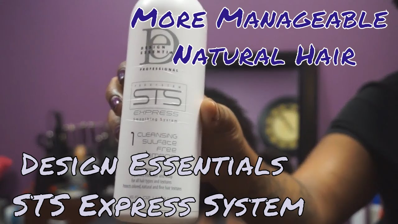 Design Essentials Sts Express System How To Make Natural Hair More