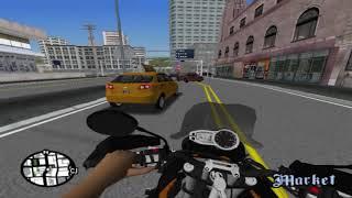 [Gta San Andreas] MotoVlog Vida Real #2 Minha Nova Moto e Já Arrumei Um Trampo Quase Deu PT