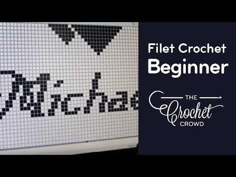 How To Filet Crochet Part 1 Youtube