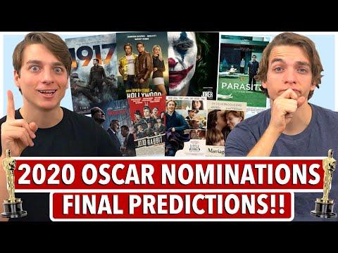 FINAL 2020 Oscar Nomination Predictions!! (All 24 categories)