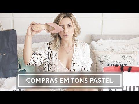 COMPRINHAS #1 (C&A, Zara, YouCom) - Paty Quintanilha