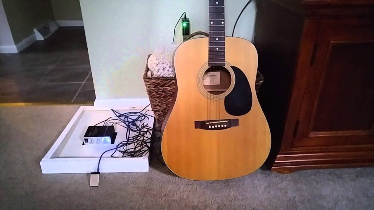 Awesome DIY Speaker - Guitar and Sound Exciters!