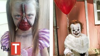 10 EPIC Kids Costume Ideas For Halloween (Pennywise from IT movie, Pablo Escobar, Wonder Woman)