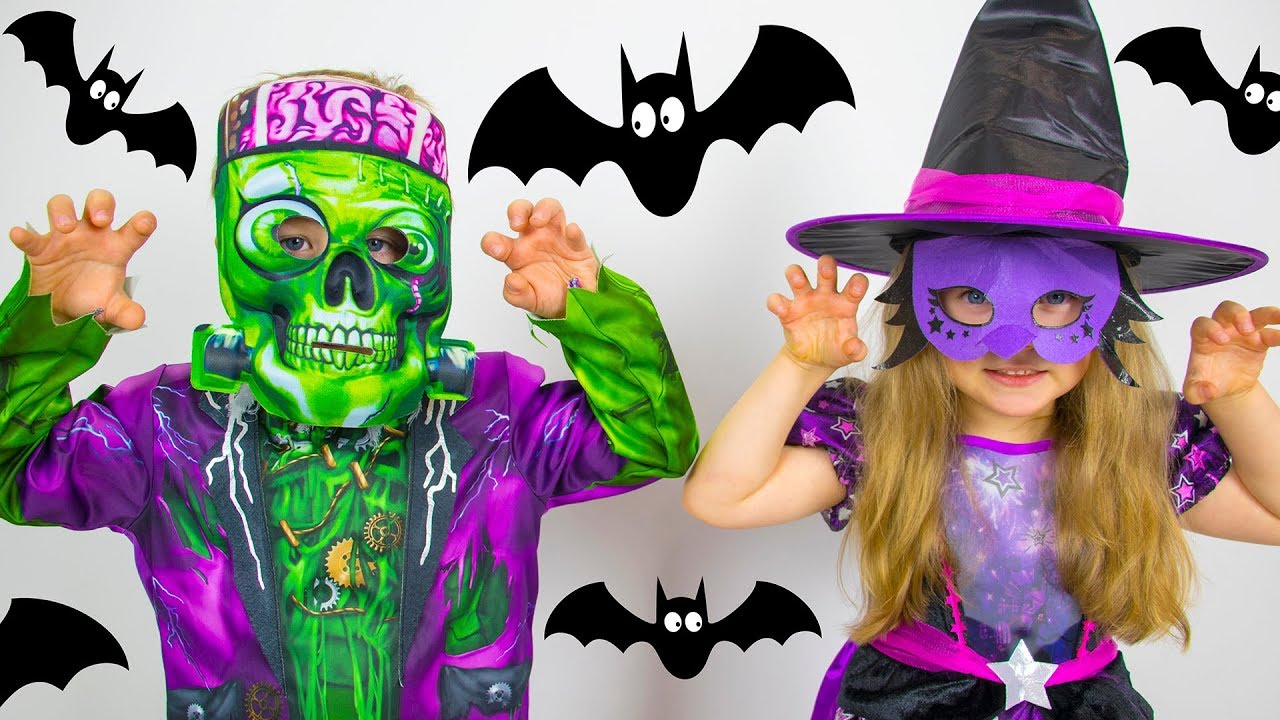 Halloween videos for kids from Gaby and Alex