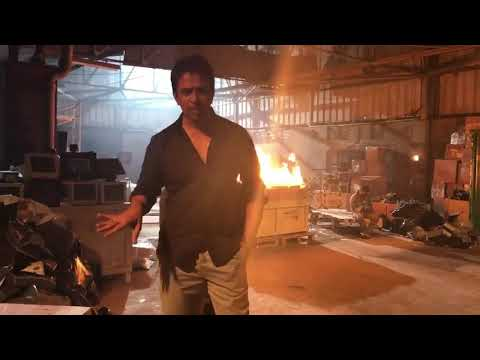 Irumbu Thirai - Arjun and Vishal scenes...