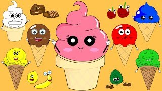 Ice Cream Colors Song