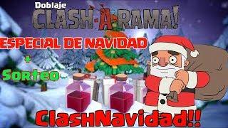 Doblaje Clash A Rama ESPECIAL DE NAVIDAD! ESPAÑOL LATINO Cap 7.- CLASHNAVIDAD - DimonPro