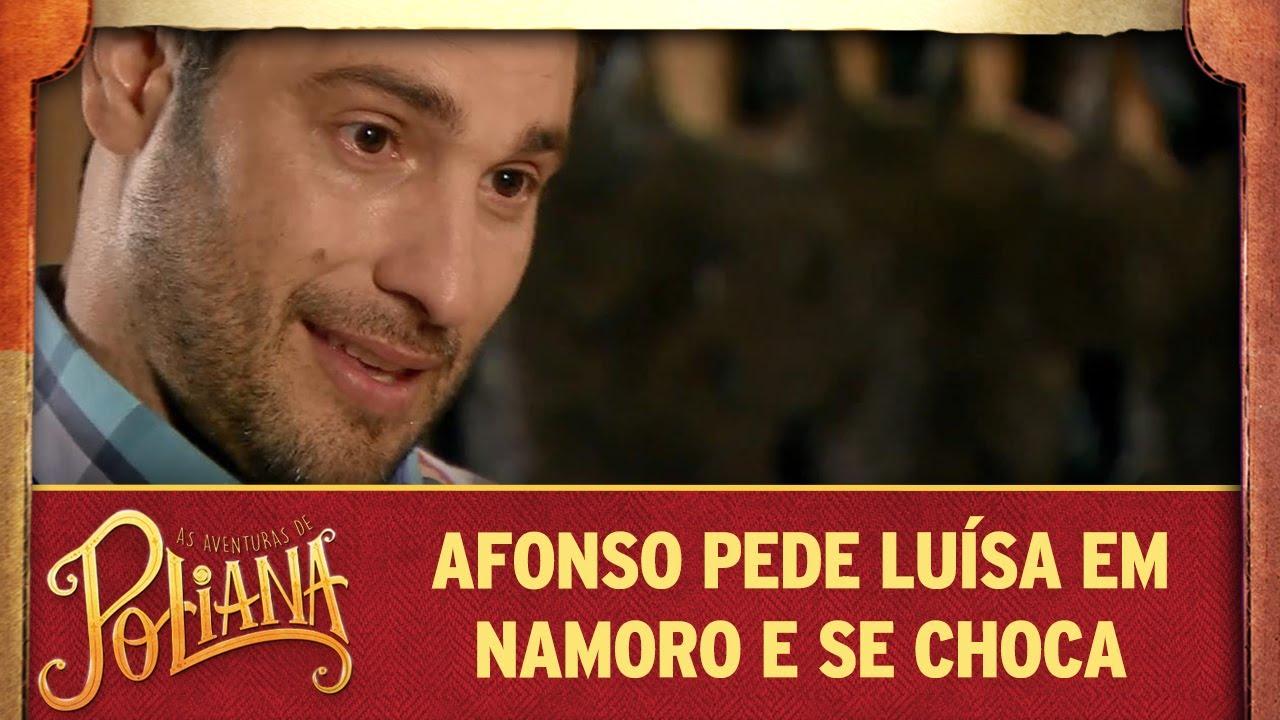 Afonso pede Luísa em namoro e se choca com resposta | As Aventuras de Poliana