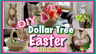 DIY Dollar Tree Easter Decor | Spring Farmhouse and Easter Decor