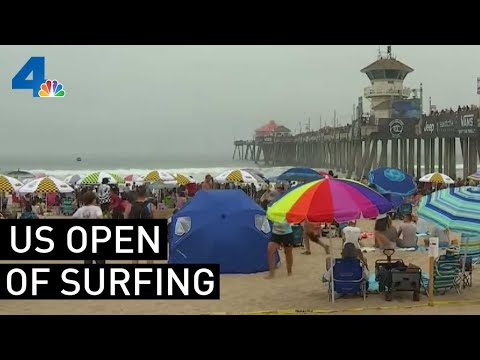 US Open Of Surfing Wraps Up In Huntington Beach | NBCLA