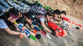 LTT Game Nerf War : Warriors SEAL X Nerf Guns Fight Criminal Group Seal Team Avengeful