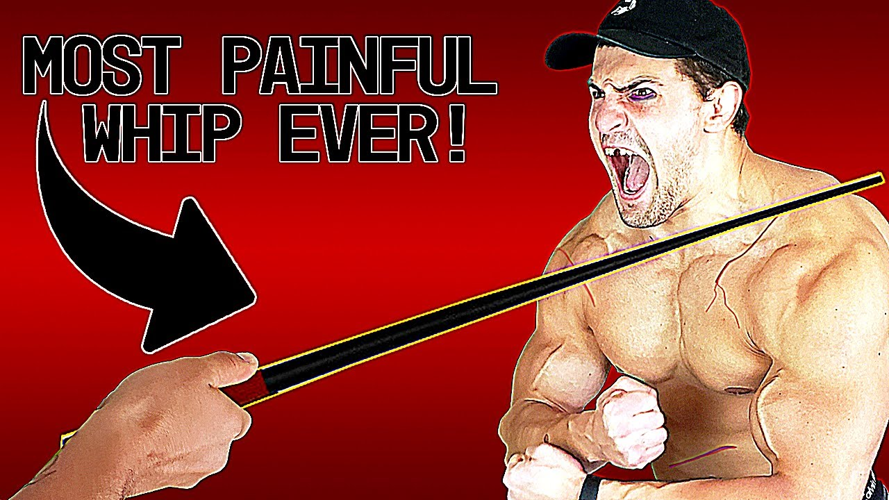 Bodybuilder VS Sjambok WHIP Experiment *MOST PAINFUL ITEM I'VE TESTED*