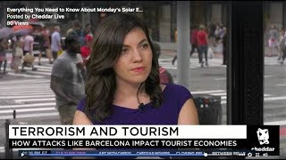 8/18 Cheddar TV Live: Terrorism and Tourism