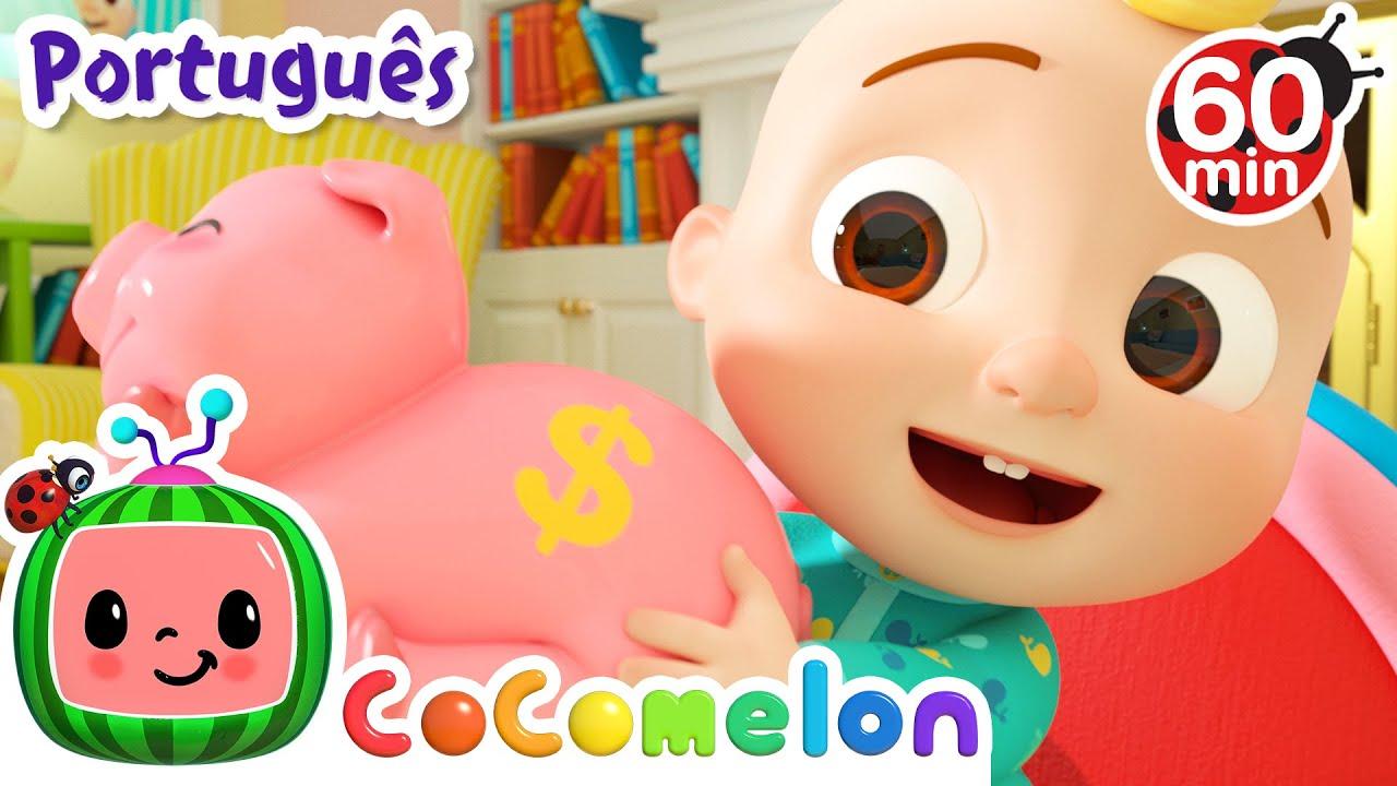 CoComelon em Português | Guardamos no porquinho | Músicas Infantis | Compilação de Desenhos Animados