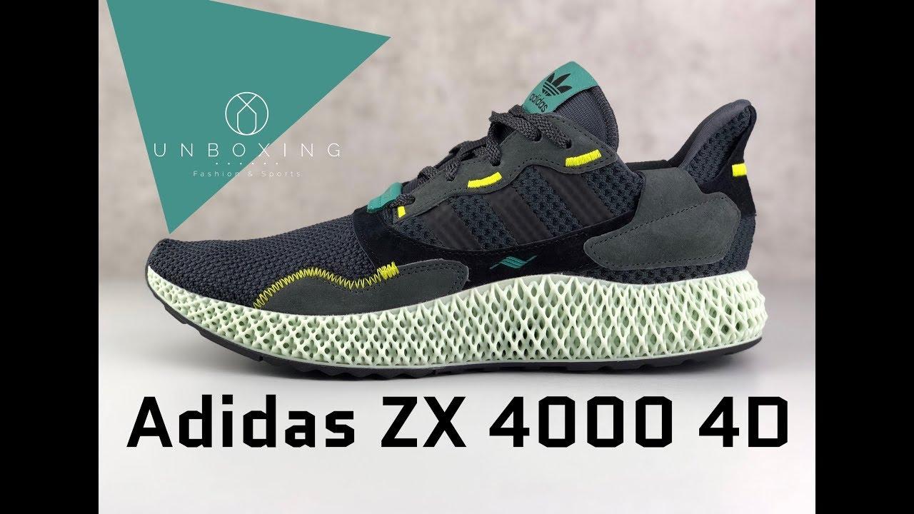 Adidas ZX 4000 4D (OG) Close Look & On Feet YouTube