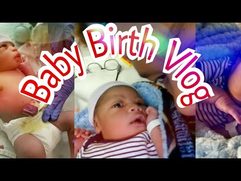 Very Emotional Birth Vlog!!!|Teen Parent Channel Introduction